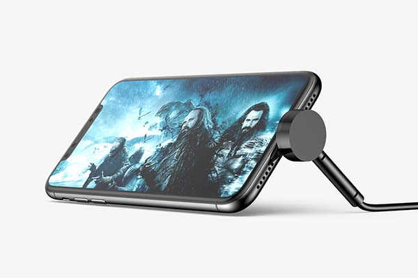Baseus Maruko Video Lightning Charging Cable Serves as iPhone Stand