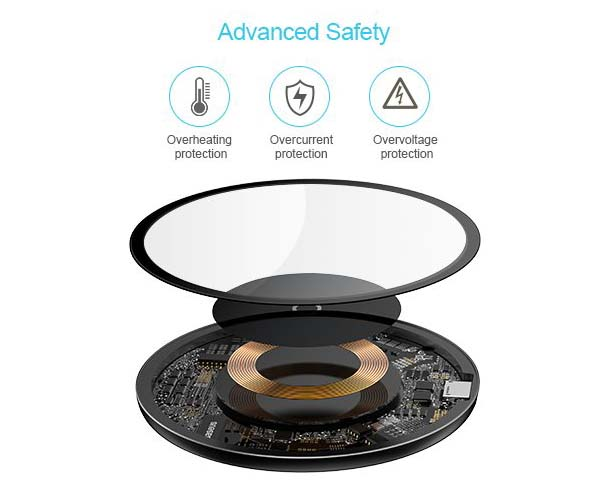Baseus Transparent Qi Wireless Charger