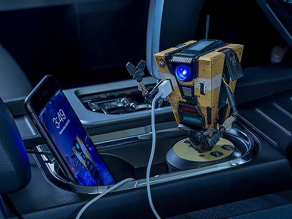 Borderlands Claptrap Talking USB Car Charger