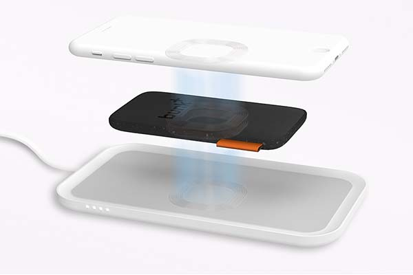 Bunk Qi-Enabled Wireless Power Bank