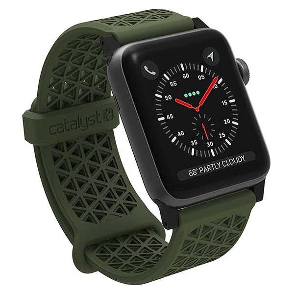 Catalyst Hypoallergenic Silicone Breathable Apple Watch Band