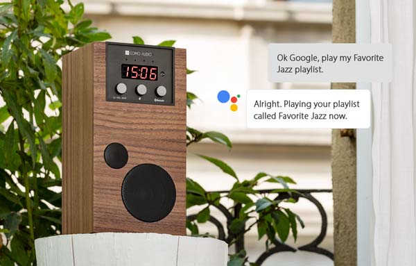 Como Audio SpeakEasy Wireless Speaker with Google Assistant