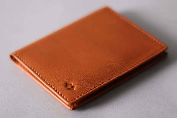 Handmade Leather Card Wallet with RFID