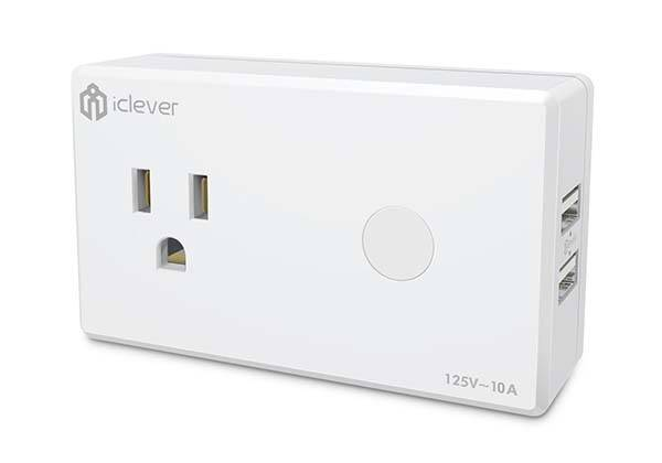iClever WiFi Smart Plug Compatible with Amazon Alexa and Google Assistant