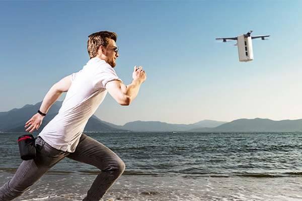 LeveTop Autonomous Folding Drone with 1080p Camera