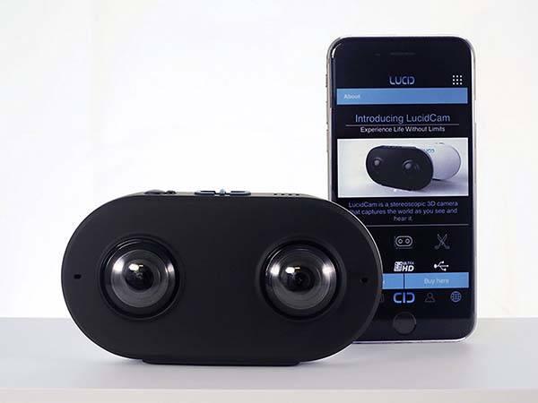 LucidCam Virtual Reality 4K 3D Camera