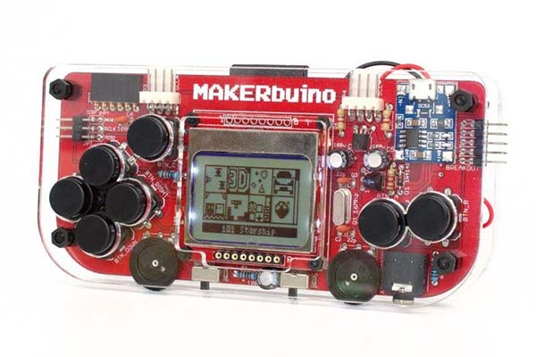 MAKERbuino DIY Retro Handheld Game Console