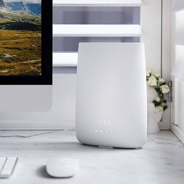 Netgear Orbi Tri-Band Home Mesh WiFi System with Built-in Cable Modem