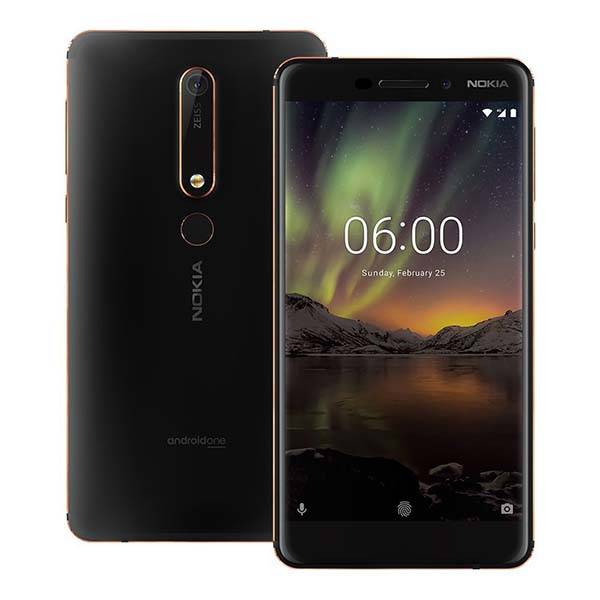 Nokia 6.1 Smartphone with Android One