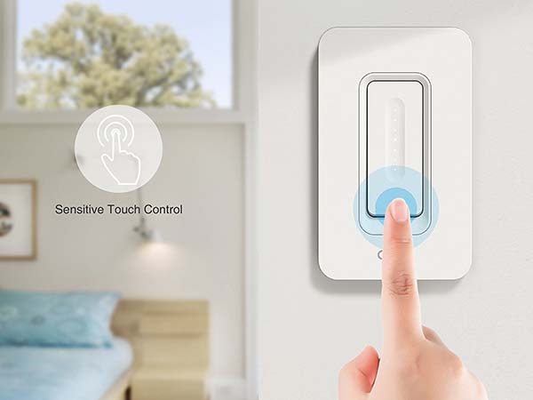 Oittm WiFi Smart Dimmer Switch Supports Amazon Alexa and Google Assistant