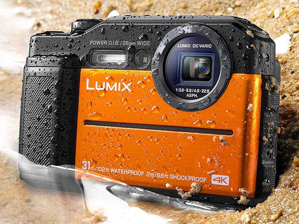 Panasonic Lumix TS7 Waterproof Compact Camera