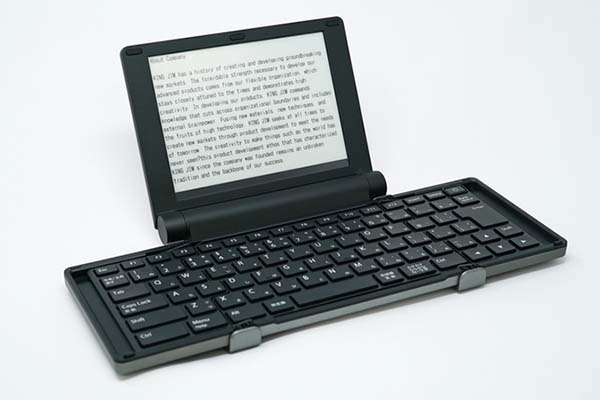 Pomera Pocket Typewriter with E-Ink Display
