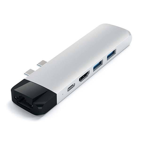 Satechi Aluminum USB-C Hub Pro with Ethernet
