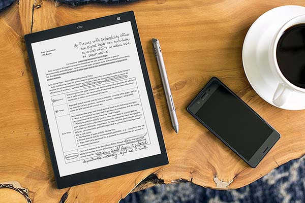 Sony DPT-CP1/B 10-Inch Digital Paper Tablet