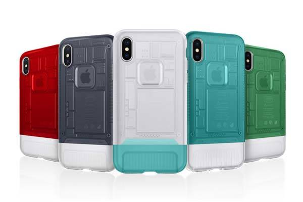 Spigen Classic C1 iPhone X Case Inspired by Apple iMac G3