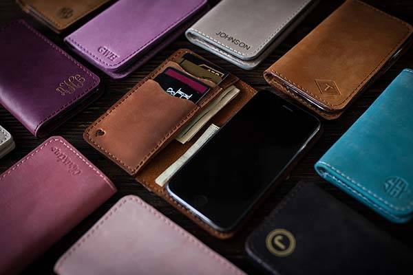 The Handmade Leather iPhone X Case with Personalized Detailing