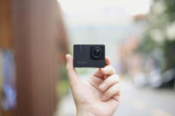 Trawo 4K Action Camera with 170-Degree Ultra-Wide Field of View