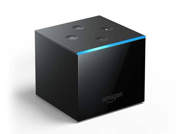 Amazon Fire TV Cube 4K Streaming Media Player with Alexa