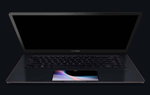 ASUS New ZenBook Pro 15 UX580 Laptop with ScreenPad