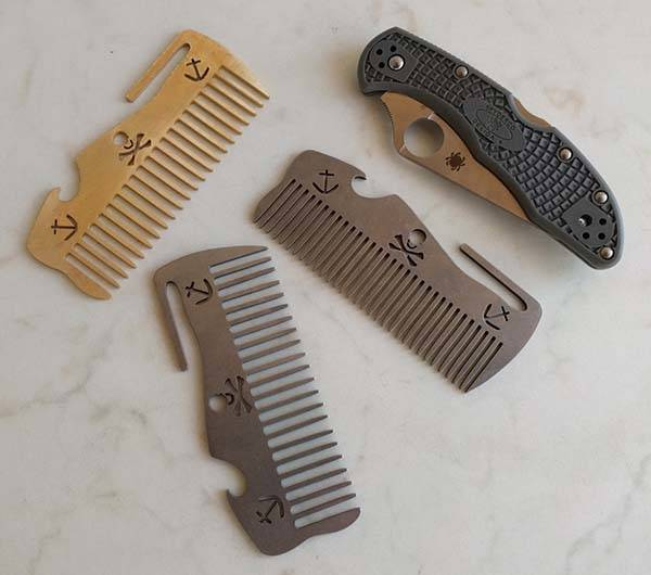 Bearded Buccaneer Handmade Multitool Beard Comb