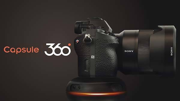 Capsule360 Motion Control Box with 3-Axis Motion Enhances Your Photography