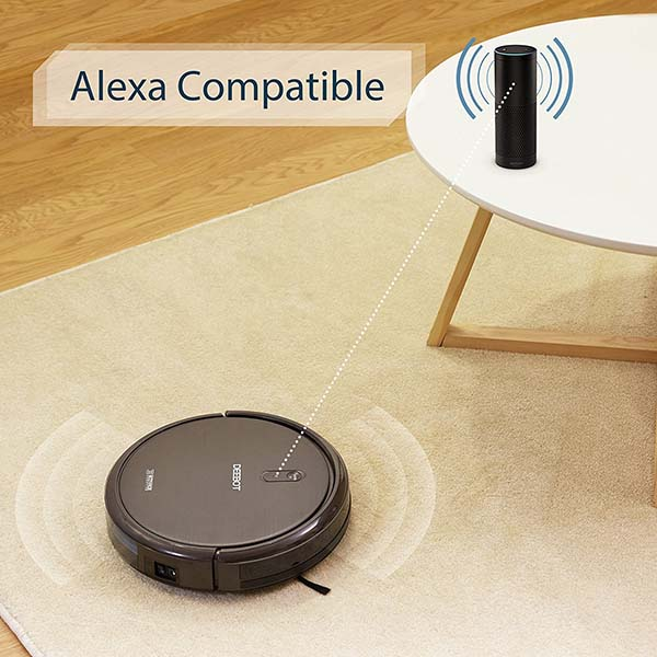 Ecovacs Deebot N795 Robot Vacuum Cleaner Supports Amazon Alexa