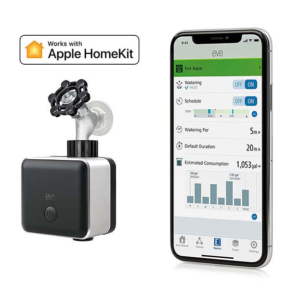 Elgato Eve Aqua Smart Water Controller with Apple HomeKit