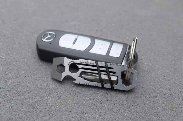 EverRatchet Ratchet Keychain Multitool