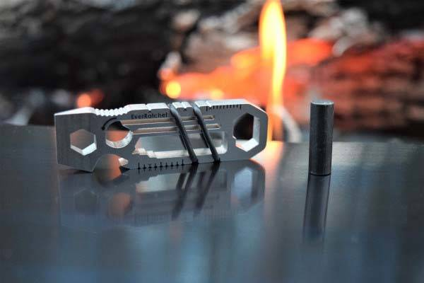 EverRatchet Ratchet Keychain Multitool