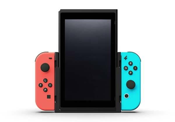 Flip Nintendo Switch Grip for Vertical Mode