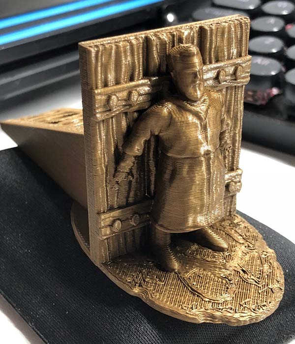 Game of Thrones Hodor 3D Printed Doorstop