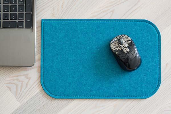 Handmade Felt Mouse Pad