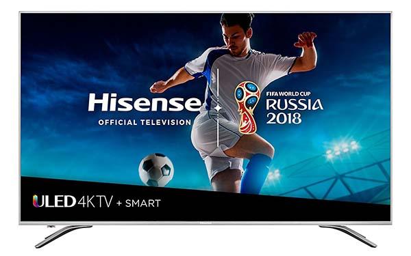 Hisense 55-Inch 4K Alexa Enabled Smart LED TV