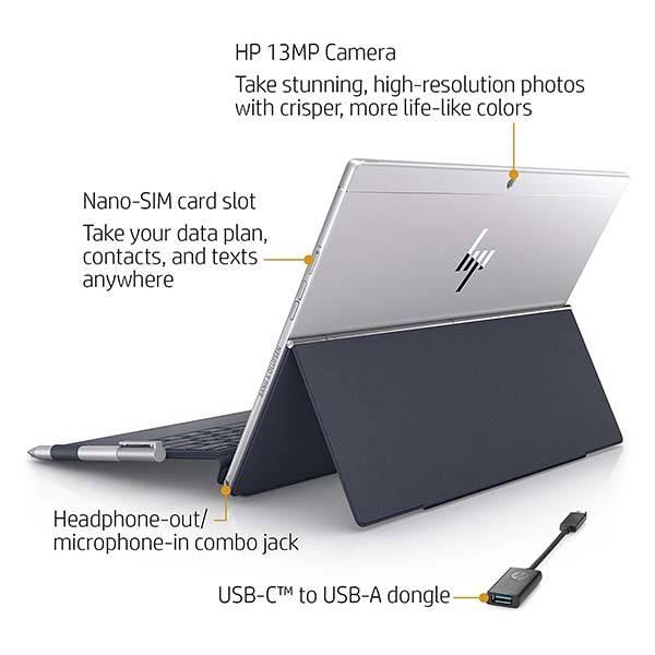 HP Envy x2 12-Inch Detachable Touchscreen Laptop with Stylus Pen