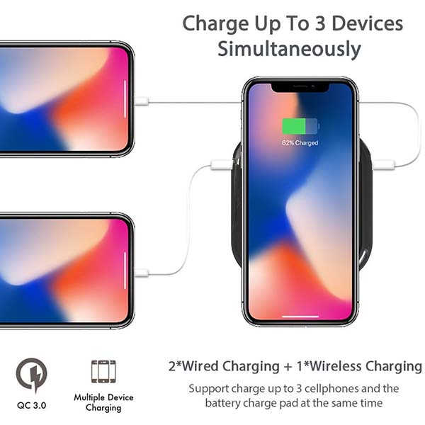 MiPow Qi-Enabled Portable Wireless Charger