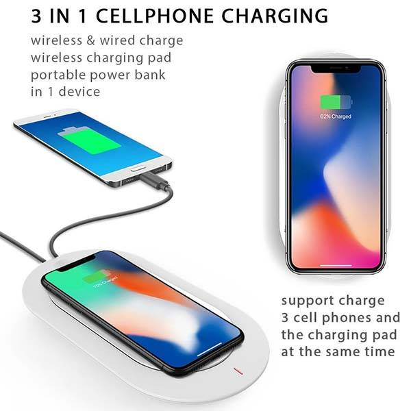 MiPow Wireless Charging Pad Doubles as Portable Power Bank