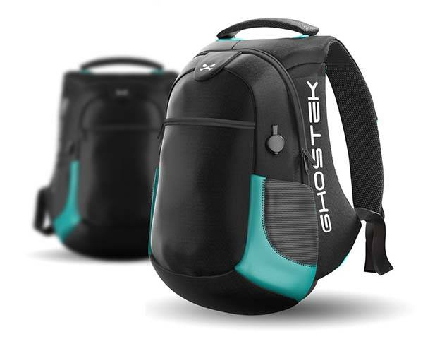 NRGbag 2 Laptop Backpack with Power Bank and USB Ports