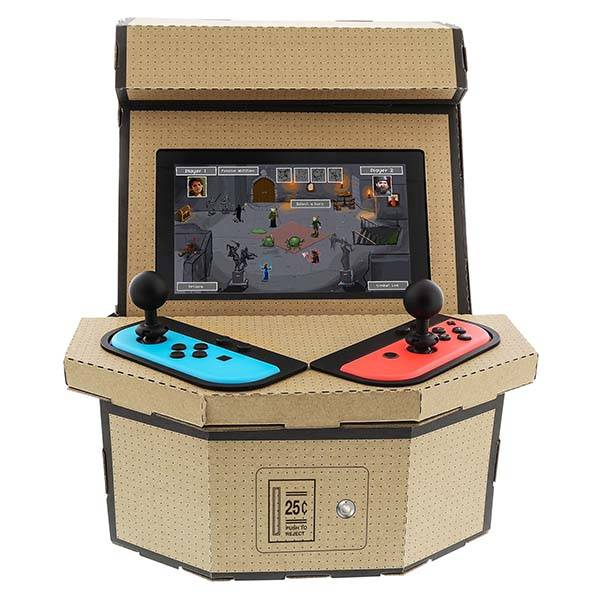 Nylon Retro Arcade Kit Turns Nintendo Switch into Arcade Cabinet