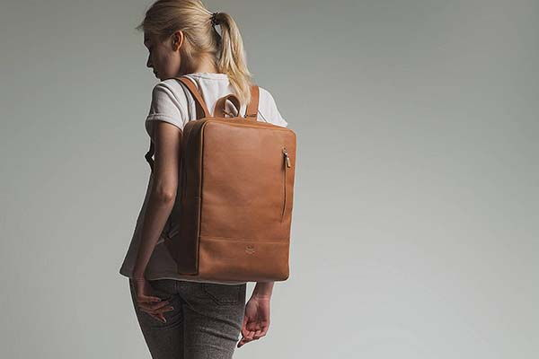 Ranger Handmade Urban-style Leather Backpack