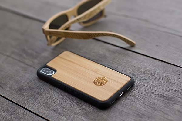 Reveal Real Wood iPhone X Case