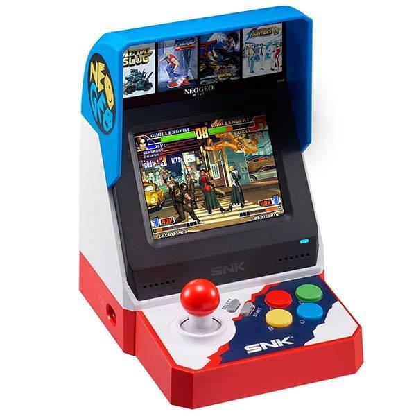 SNK NEOGEO Mini Arcade Cabinet with 40 Classic Games