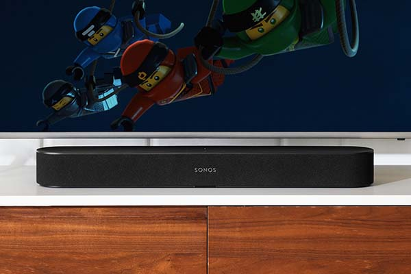 Sonos Beam Compact Smart TV Soundbar with Amazon Alexa