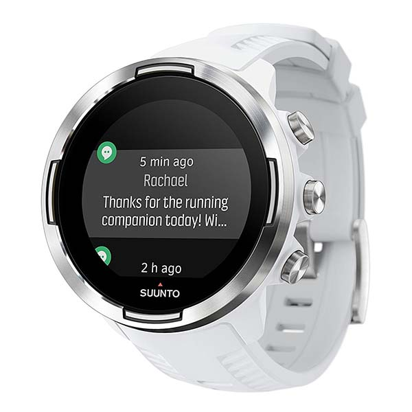 Suunto 9 GPS Smartwatch Delivers 120-Hour Exercise Tracking