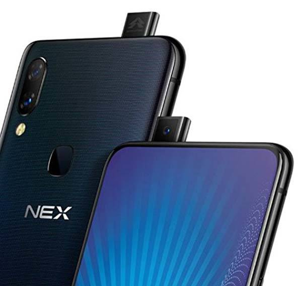 Vivo Nex Full-Screen Smartphone with an Auto-Elevated Camera