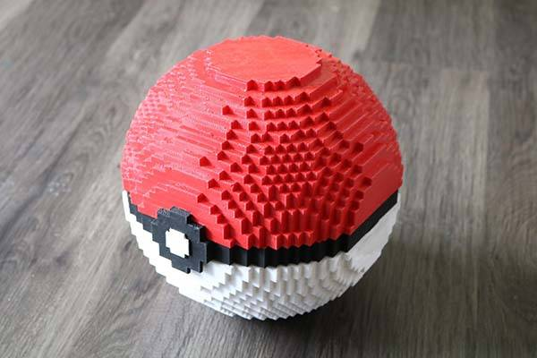 3D Printed Pokémon Pokeball Nintendo Switch Dock