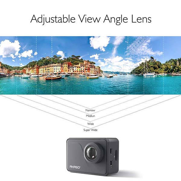 AKASO V50 Pro 4K Action Camera with Touchscreen and EIS