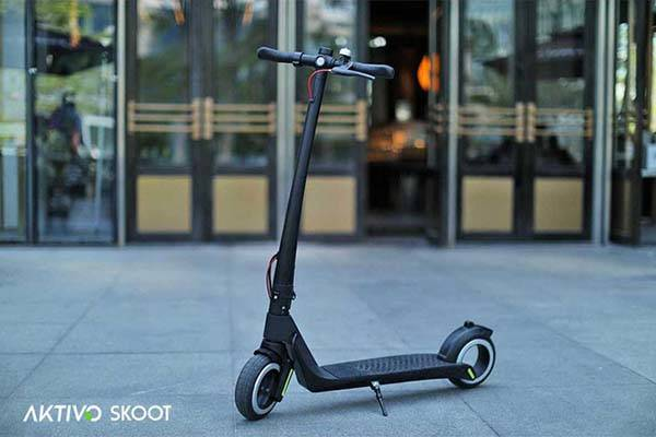 Aktivo Foldable Hubless Electric Scooter
