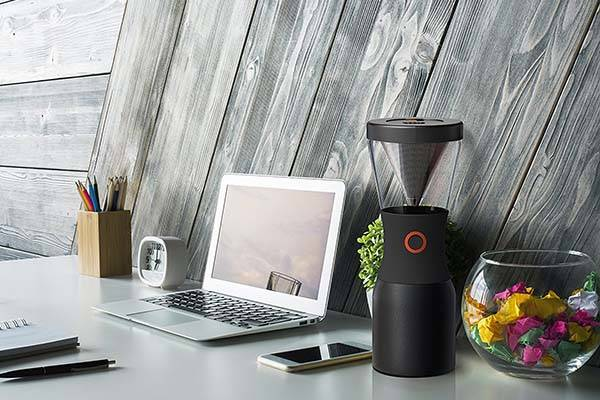 Asobu Portable Cold Brew Coffee Maker with a Vacuum Insulated Stainless Steel Carafe