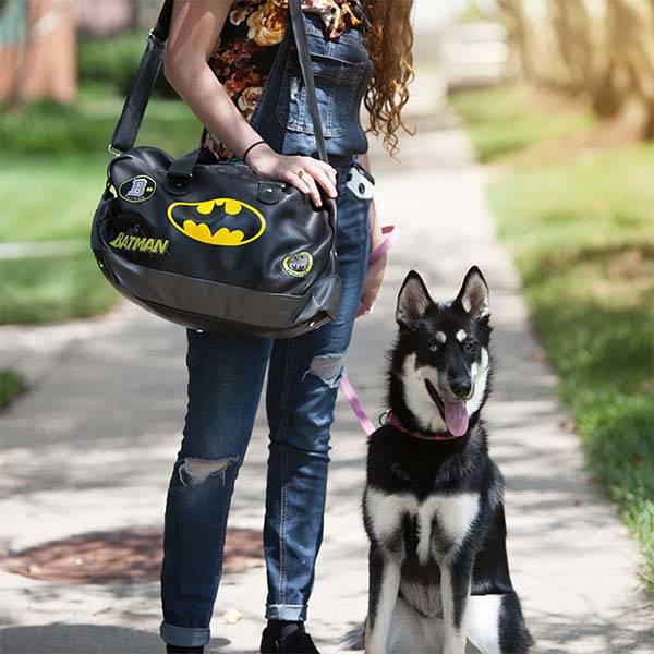 Batman Lifestyle Leather Duffel Bag