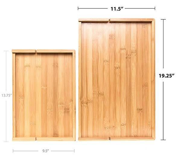 BedShelfie Plus Wooden Bedside Shelf